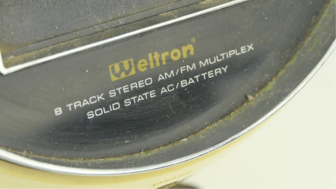 "WELTRON ""SPACE HELMET"" MODEL 2001 8 TRACK PLAYER - 4"