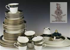 "50pc ROYAL DOULTON ""CARLYLE"" CHINA DINNERWARE SET"