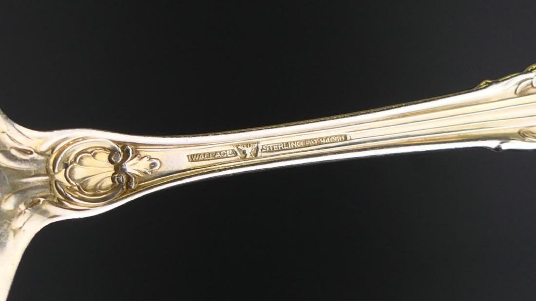 """5 WALLACE """"SIR CHRISTOPHER"""" STERLING SERVING ITEMS - 6"""