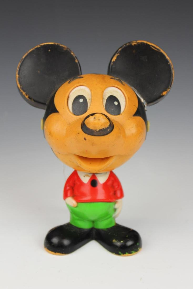 """VINTAGE PULL STING """"MICKEY MOUSE"""" TOY"""