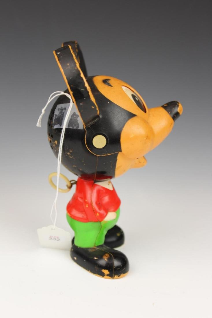 """VINTAGE PULL STING """"MICKEY MOUSE"""" TOY - 3"""