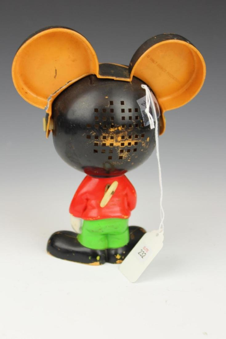 """VINTAGE PULL STING """"MICKEY MOUSE"""" TOY - 4"""