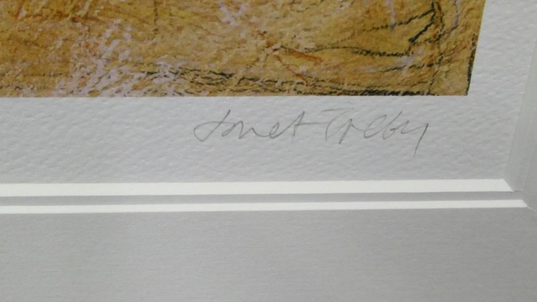 "JANET TREBY (UK b1955) ""QUIET MOMENT"" GICLEE - 2"