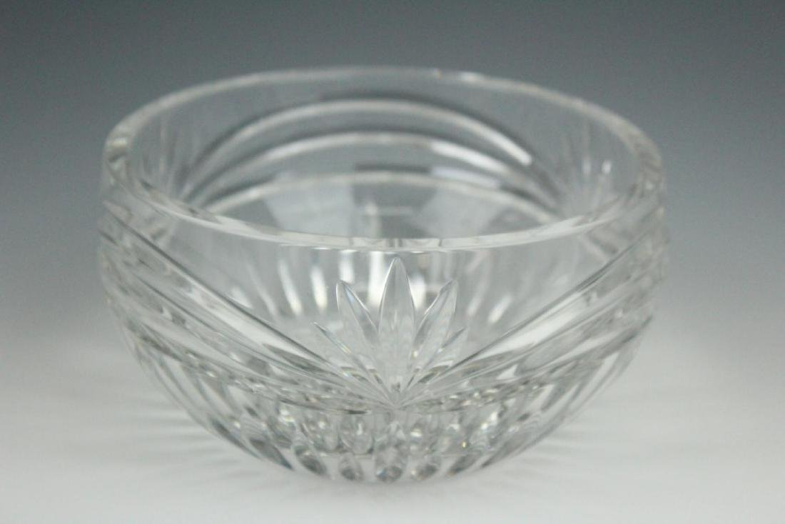 WATERFORD CRYSTAL  SIGNED SMALL BOWL - 2