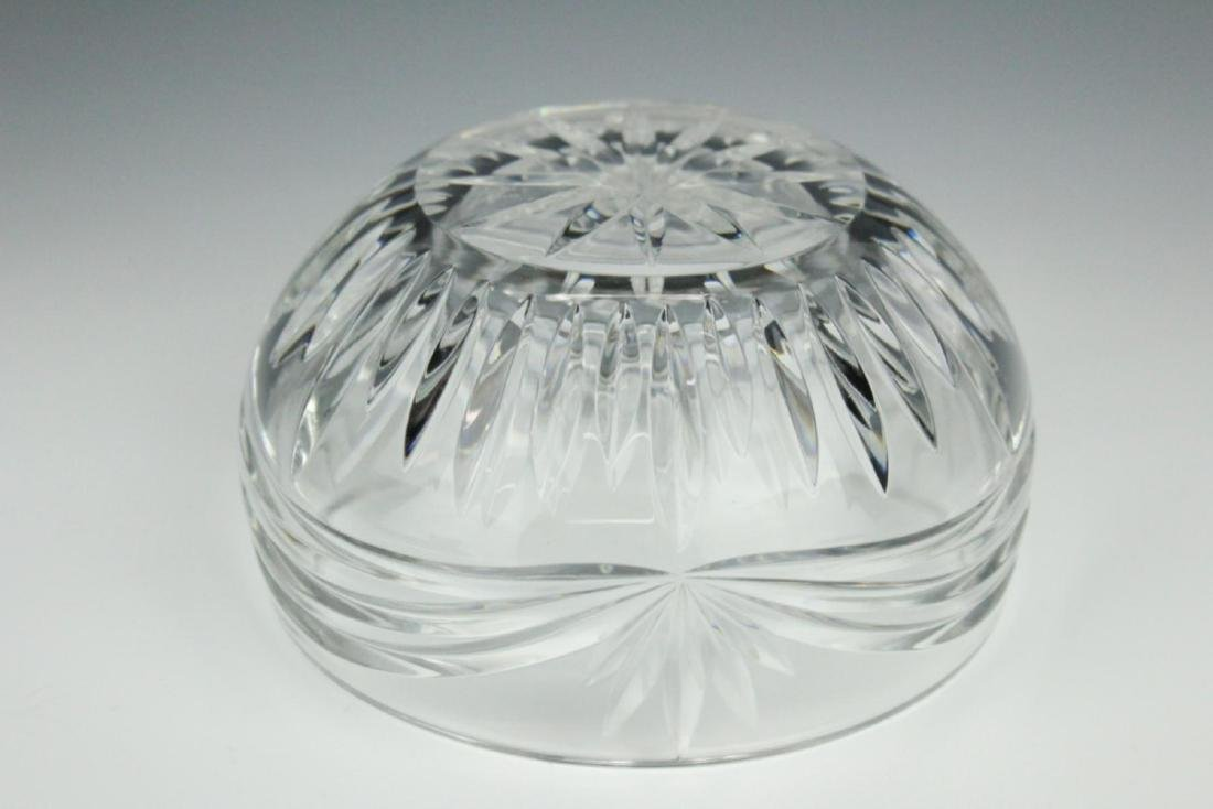 WATERFORD CRYSTAL  SIGNED SMALL BOWL - 4