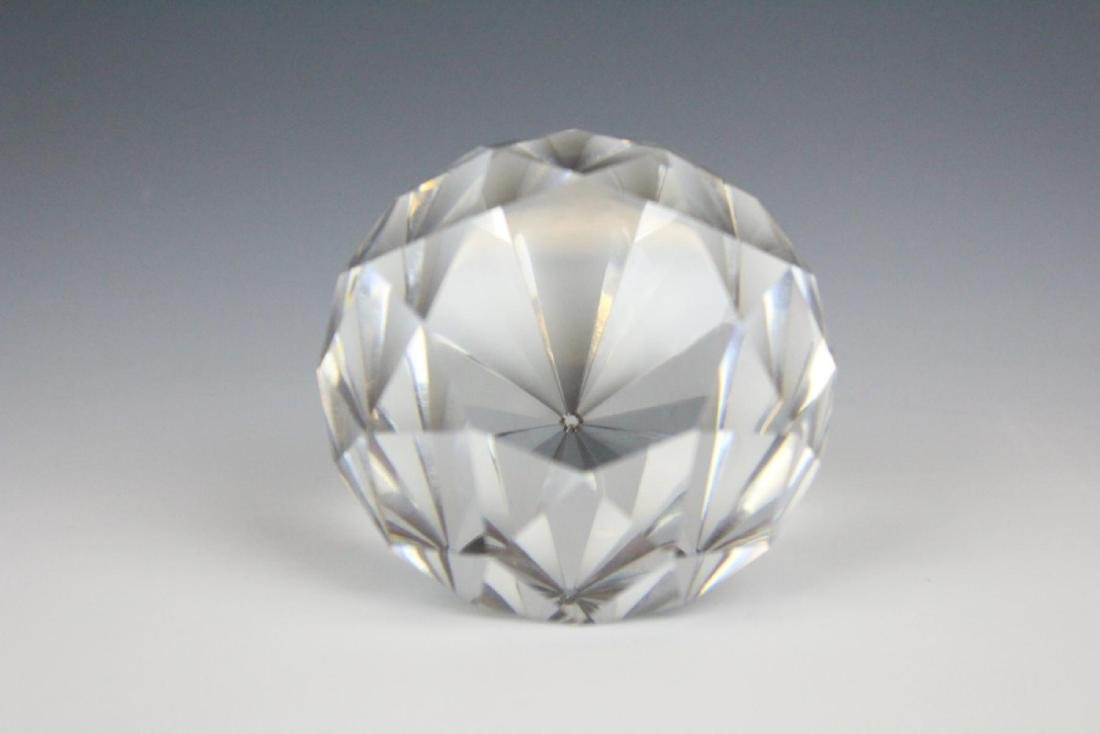 TIFFANY & CO CRYSTAL DIAMOND PAPER WEIGHT - 2