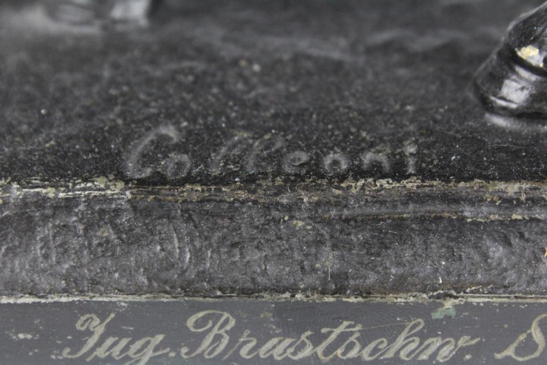 CAST IRON SCULPTURE OF COLLEONI BY VERROCHIO - 3