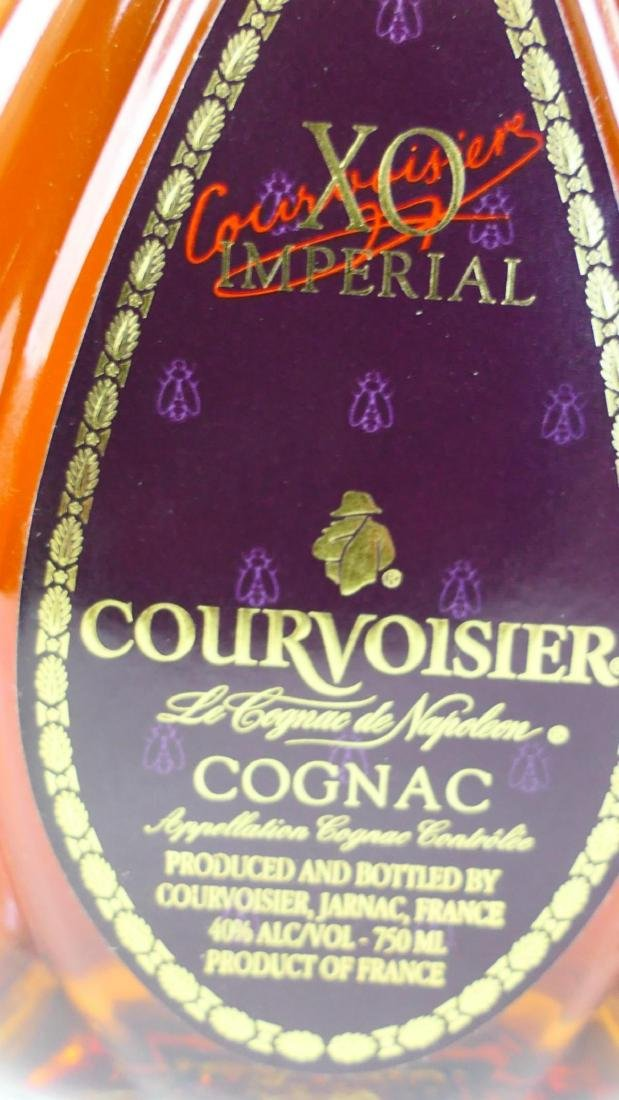 XO IMPERIAL COURVOISIER COGNAC NEW UNOPENED - 2