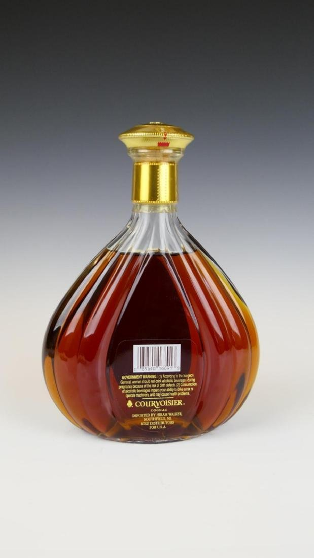 XO IMPERIAL COURVOISIER COGNAC NEW UNOPENED - 4