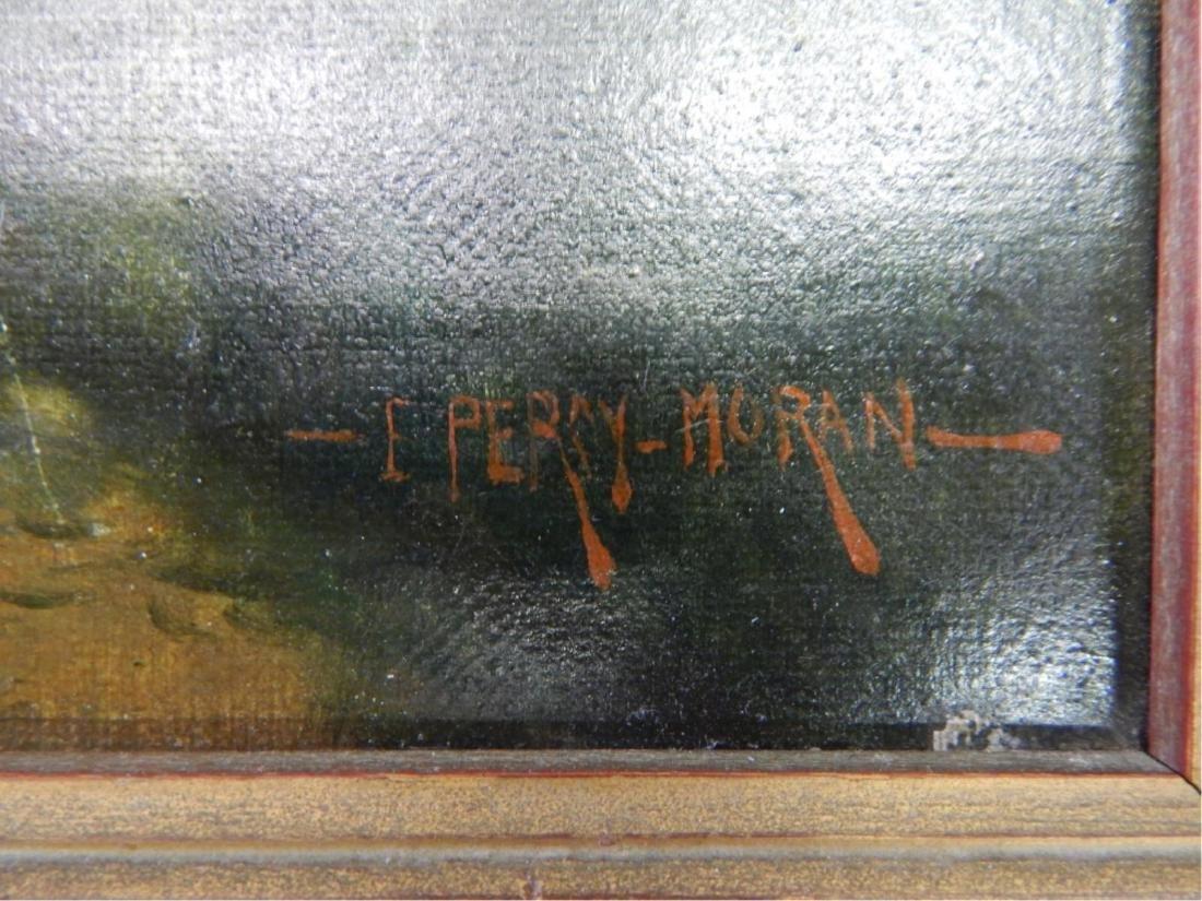 ATTR TO E PERCY MORAN (1862-1935) OIL ON CANVAS - 6