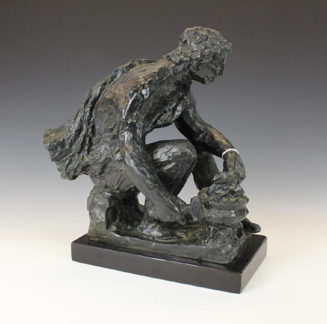 """PIERRE-AUGUSTE RENOIR (FRENCH 1841-1919) """"LE FEU"""""""