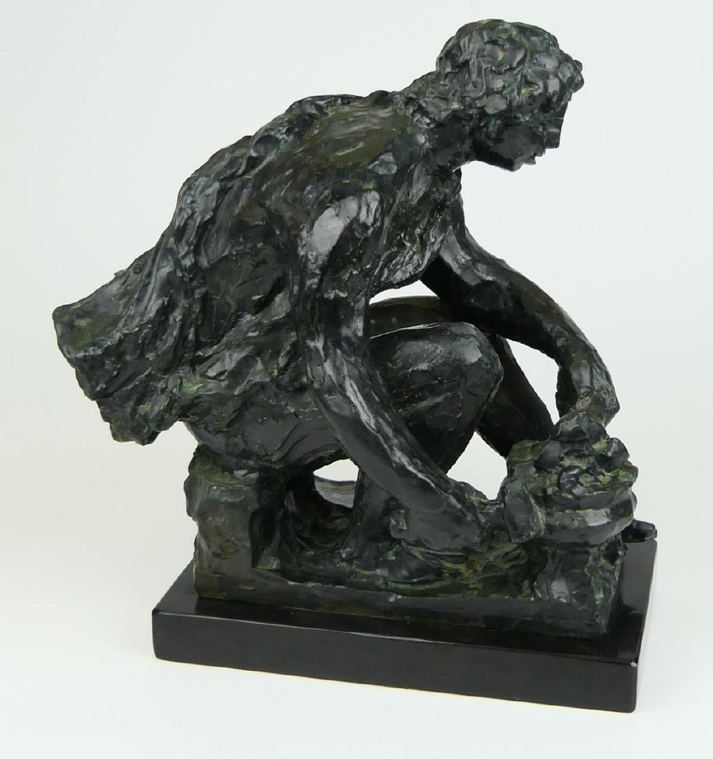 """PIERRE-AUGUSTE RENOIR (FRENCH 1841-1919) """"LE FEU"""" - 2"""