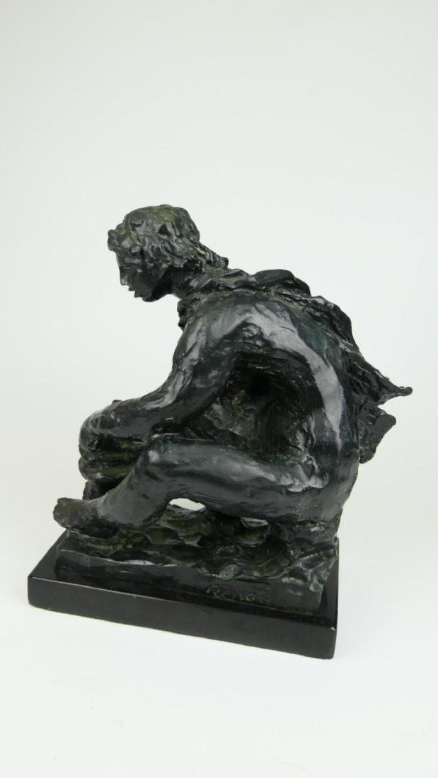 """PIERRE-AUGUSTE RENOIR (FRENCH 1841-1919) """"LE FEU"""" - 6"""