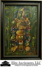 MARIO CARRENO (1913-1999) OIL PAINTING