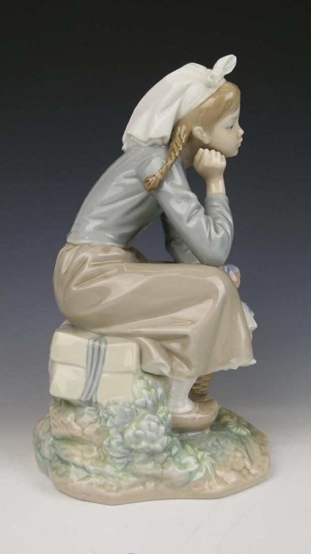 "LLADRO ""GIRL WITH DOLL"" PORCELAIN FIGURE 1211 - 2"