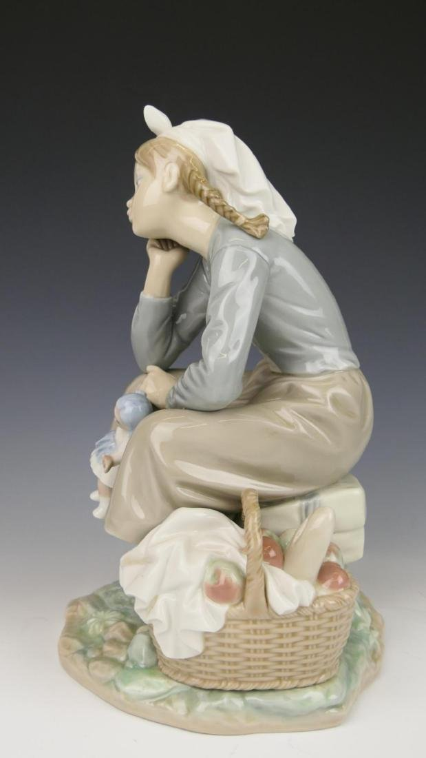 "LLADRO ""GIRL WITH DOLL"" PORCELAIN FIGURE 1211 - 4"