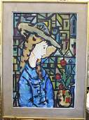 JOSE MARIA MIJARES CUBAN 19212004 OIL ON CANVAS