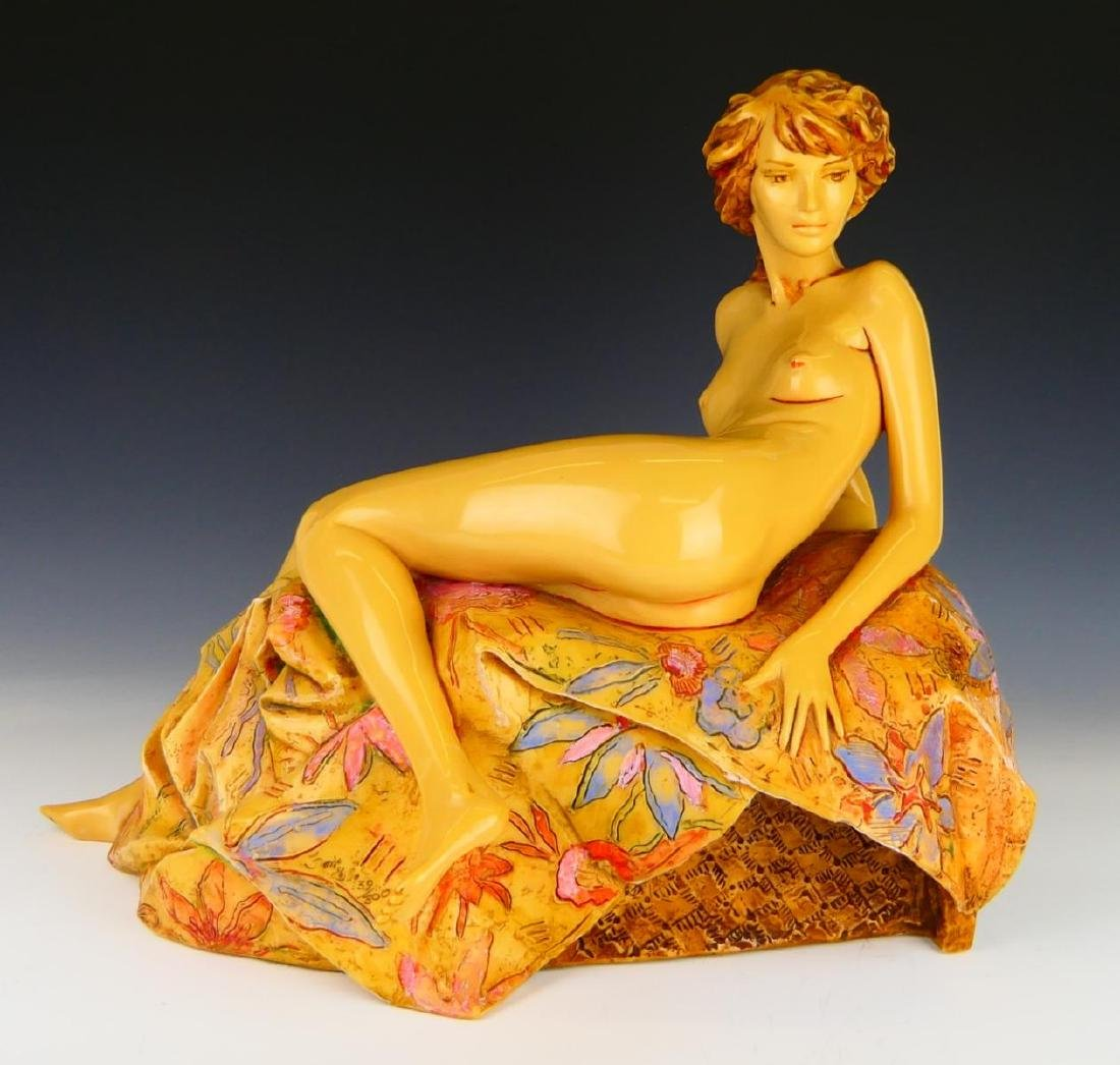 FRANK GALLO (AMERICAN, B.1933)  RESIN SCULPTURE