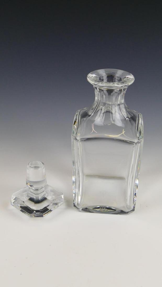 BACCARAT FRANCE CRYSTAL CLEAR DECANTER - 2
