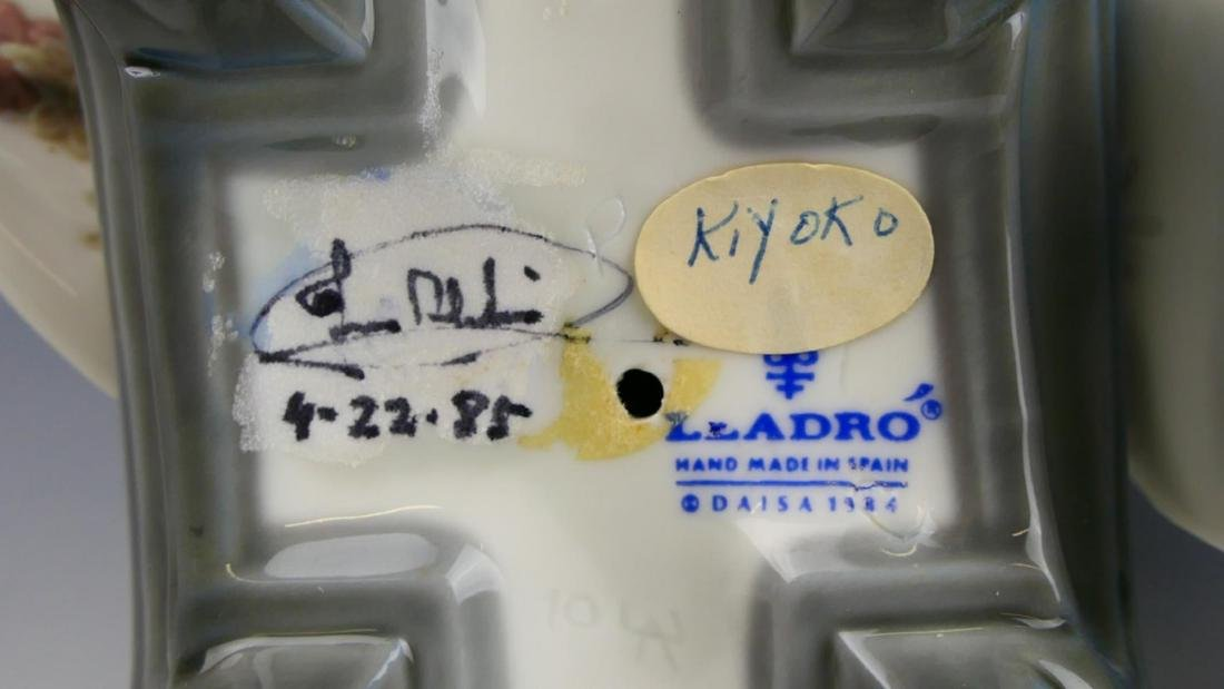 2 LLADRO PORCELAIN FIGURINES KIYOKO,YUKI - 4