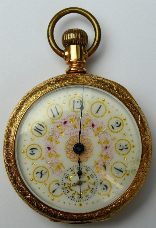 90261070b ANTIQUE WALTHAM GOLD PLATED OPEN FACE POCKET WATCH - Feb 12, 2019 ...