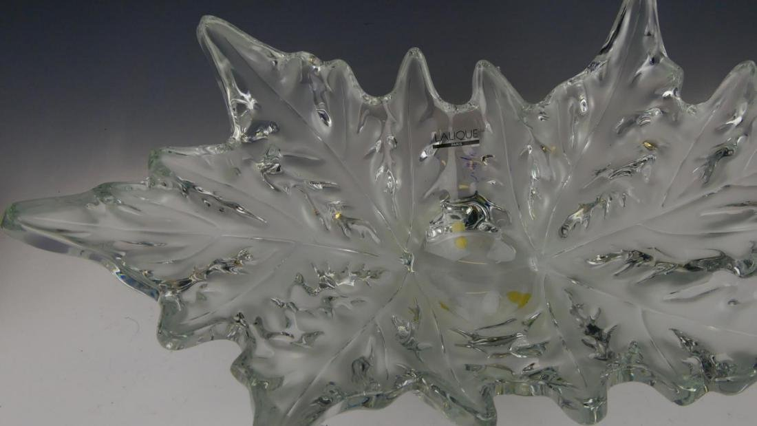LALIQUE FRANCE CRYSTAL 'CHAMPS-ELYSEES' BOWL - 6