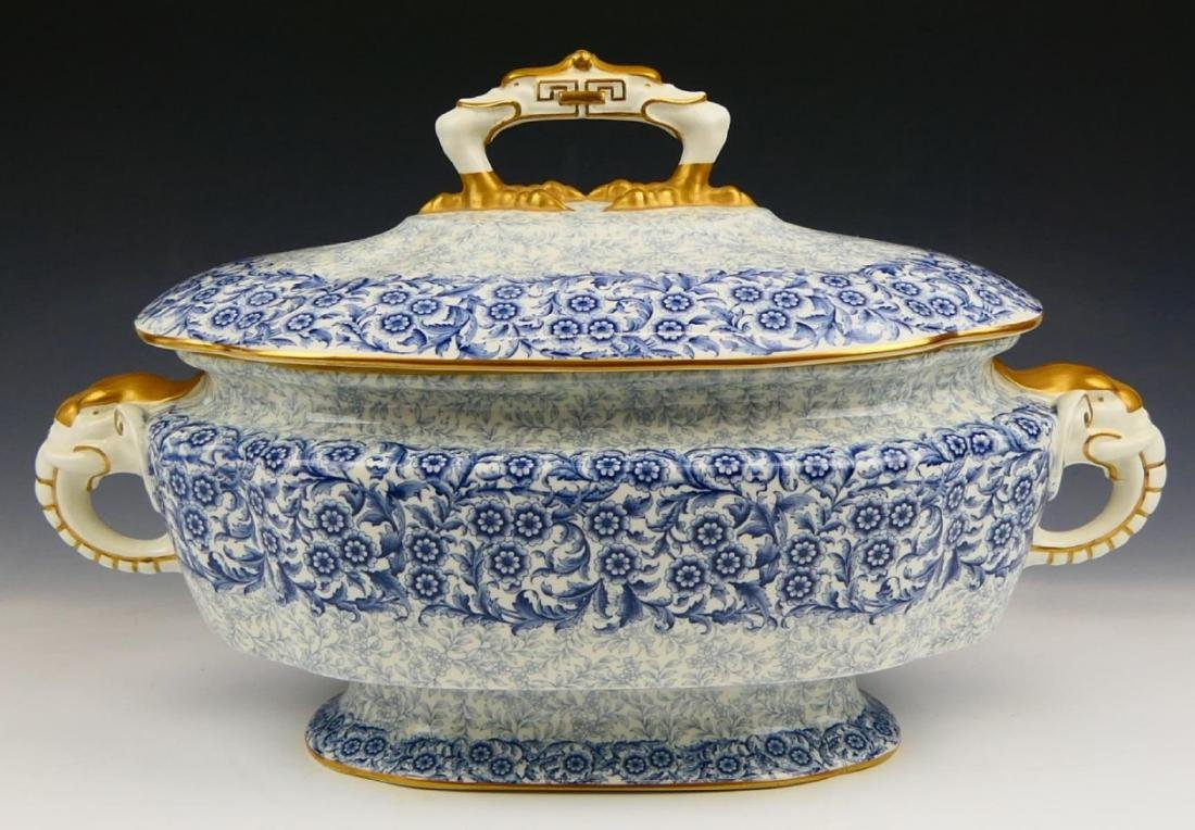 ROYAL WORCESTER VITREOUS LARGE TUREEN