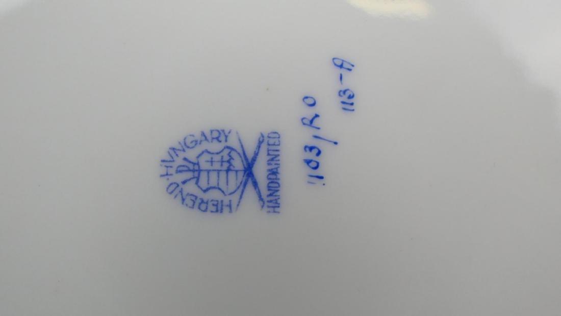 HEREND HUNGREY ROTHCHILDS PLATTER - 2