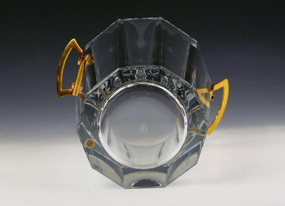 BACCARAT FRANCE CRYSTAL ICE BUCKET - 3