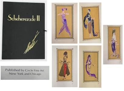 """ERTE (RUSSIA/FRANCE 1892-1990) """"SCHEHERAZADE II"""""""