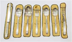 7pcs TIFFANY  CO STERLING CENTURY SERVING ITEMS