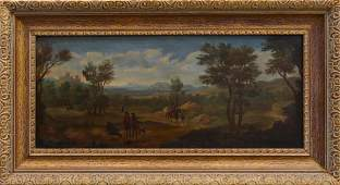 SIGNED 19th C DUTCH SCHOOL OIL PAINTING ON CANVAS
