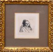 REMBRANDT (HOLLAND 1606-1669) THE ARTIST'S MOTHER