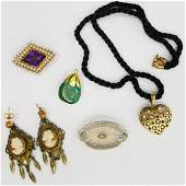FABULOUS COLLECTION OF ANTIQUE JEWELRY