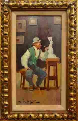 JUAN GIRALT LERIN OB LISTED SPANISH BORN 1907