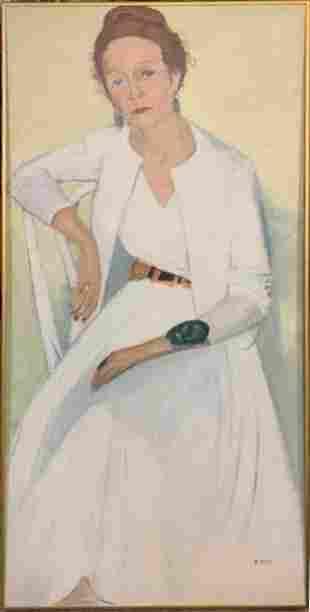 LOUIS RIBAK (American, 1902-1972) OIL PAINTING
