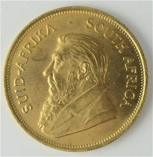 1976 KRUGERRAND 1 OZ GOLD COIN PURE GOLD