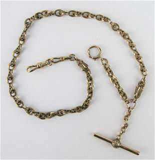 ANTIQUE 14KT YELLOW GOLD WATCH FOB