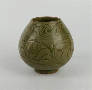 CHINESE CERAMIC YAOZHOU TYPE JAR