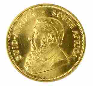 1983 SOUTH AFRICAN KRUGERAND ALMOST  UNCIRCULATED