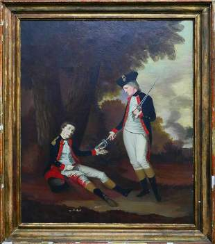 OIL CANVAS HENRY BENBRIDGE A 1743-1812 ORIGINAL