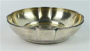 LOVELY VINTAGE ENGLISH STERLING SILVER BOWL
