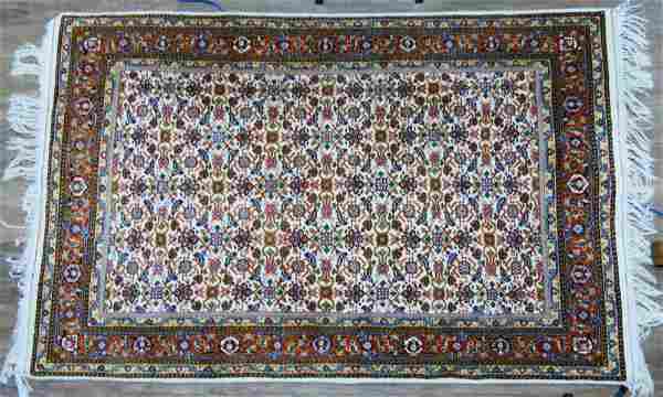"PERSIAN WOOL RUG 75.5"" X 48"""