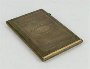19TH CENTURY 800 SILVER CIGARETTE HOLDER