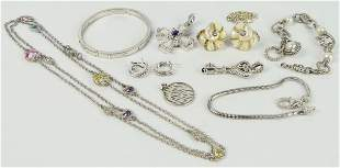 FABULOUS STERLING SIGNED JEWELRY LARGE LOT