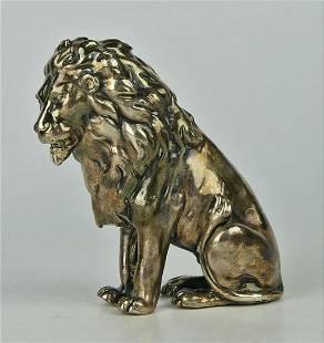 YAACOV HELLER (ISRAELI, B.1941-) STERLING LION
