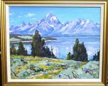 ELIOT CLARK (AMERICAN 1883-1990) GRAND TETON 1924