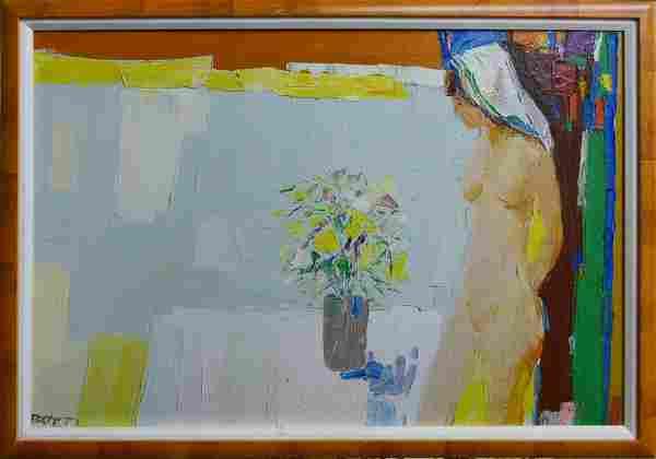 ITALO BOTTI (AMERICAN, 1923-2003) OIL PAINTING