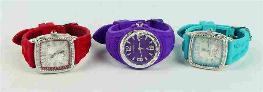 JUDITH RIPKA LOT OF 3 WATCHES