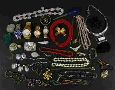 LARGE LOT OF HIGH END COSTUME JEWELRY + MORE